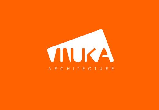 Logotipo para el estudio muka arquitectura curso de for Logo arquitectura tecnica